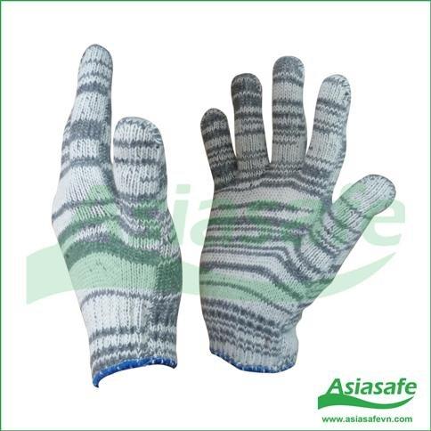 Găng tay sợi màu xám GX02