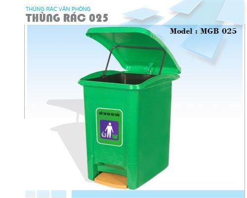 Thùng rác nhựa plastic