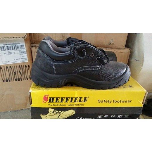 Giày da mũi thép Sheffield đế PU nhập khẩu