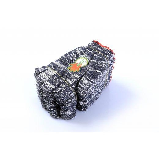Găng tay len màu xám 70gr/đôi