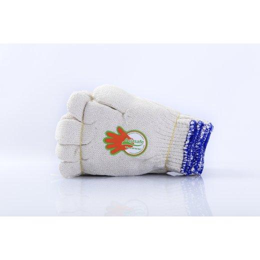 Găng tay len màu ngà 60gr