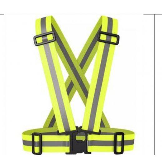 Áo dây phản quang (kiểu mới) màu vàng
