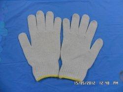 Găng tay sợi trắng ngà 50g