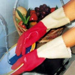 Găng tay cao su gia dụng lót cotton Melody
