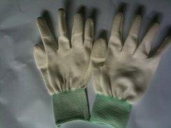 Găng tay sợi phủ PU ngón tay Hàn Quốc(Size M)