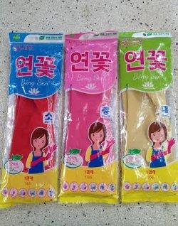 Găng tay cao su gia dụng hiệu Bông Sen( dài 40cm)