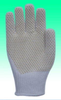Găng tay cotton hạt cao su