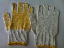 Găng tay len kem phủ hạt nhựa PVC