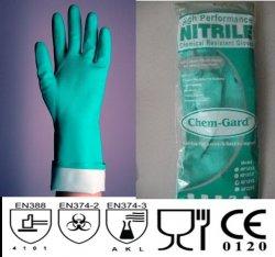 Găng tay chống hóa chất Nitrile Malaixia