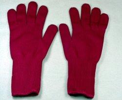 Găng tay nilon màu đỏ đô (xuất khẩu)