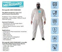 Quấn áo chống dịch, hóa chất Microgard 2000