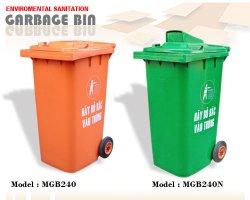 Thùng rác nhựa loại 240 lít