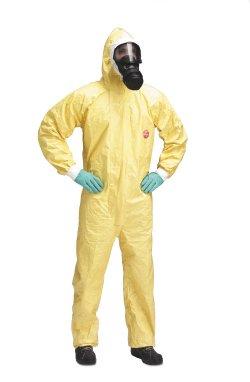 quần áo chống hóa chất axit Dupont Tychem C