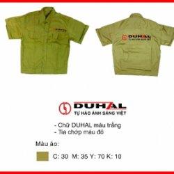 Áo công nhân (công ty Duhal)
