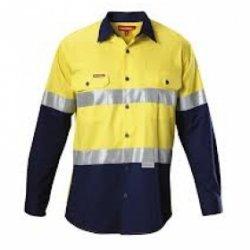 Áo công nhân (gắn phản quang 3M)