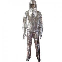 Quần áo vải bạc chịu nhiệt 1000 độ C