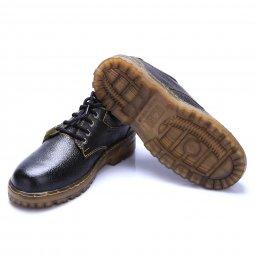 Giày bảo hộ lót thép K36 đế kép vàng
