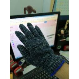 Găng tay len xám điện tử 60gr/đôi