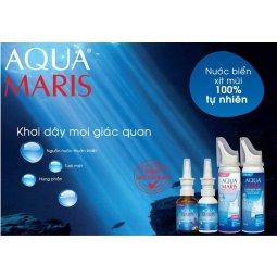 Khuyến mãi tháng 11 nước biển xịt mũi Aqua Maris ( DKSH) và AsiaMask
