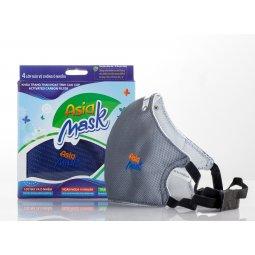 Khẩu trang than hoạt tính Asia Mask ( do Asia Safe sản xuất độc quyền)