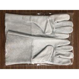 Găng tay da hàn cao cấp 1 lớp màu da 33cm (xuất khẩu)