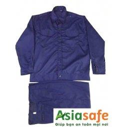 Quần áo kaki 65/35 xanh dương