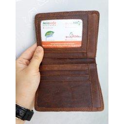 Quà tặng 01 ví da bò thật 100% khi khách mua 50 hộp khẩu trang Asia Mask