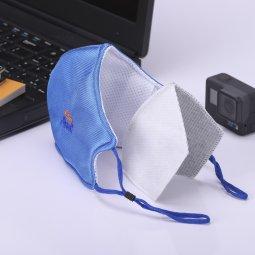 Khẩu trang vải than hoạt tính Asia Mask (dây thun có nút điều chỉnh)