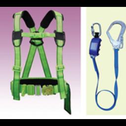 Dây an toàn bán thân sseda HALF02 1 móc sắt  ( nút bấm bụng)