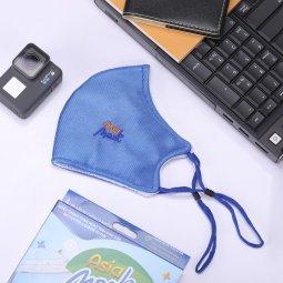 Khẩu trang vải than hoạt tính 4 lớp dày Asia Mask