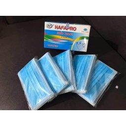 Khẩu trang y tế 4 lớp vải không dệt Hafapro chính hãng